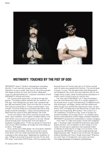 MSTRKRFT interview